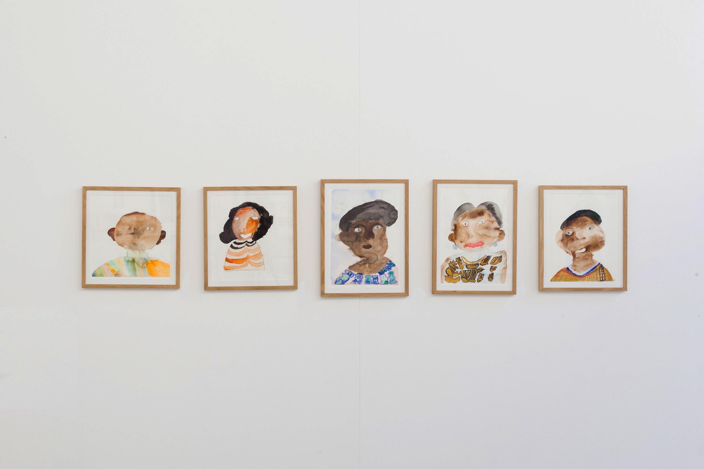 Mawuena Kattah, exhibition view